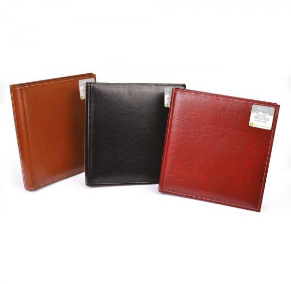 Leather Look Self Adhesive Album