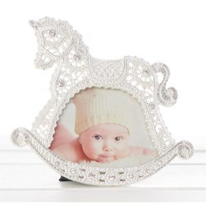 Baby Lace Horse Frame 3×4