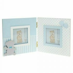 Tiny Ted Double Frame Blue